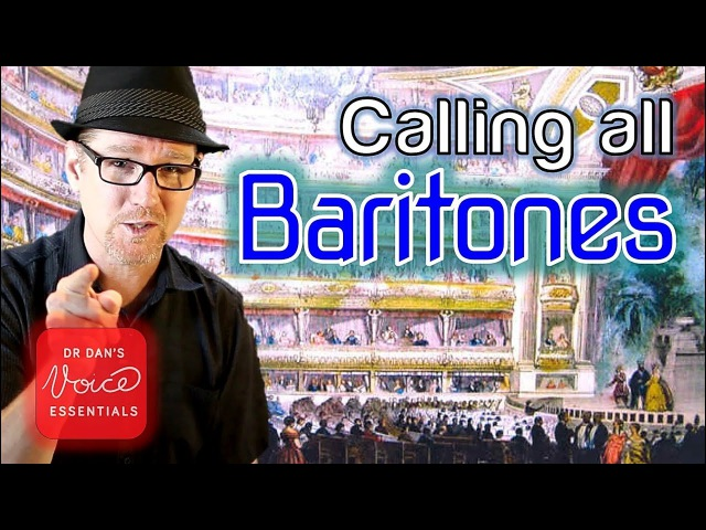 Are YOU a Baritone Voice Vocal Range and Definition DrDan 🎤