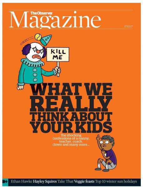 The Observer Magazine (17 — 12 — 2017)