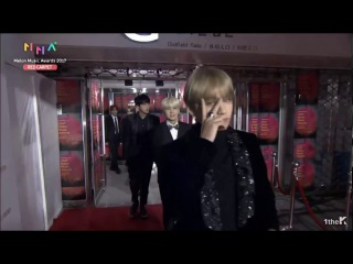 BTS - Melon Music Awards 2017 (MMA Live) || RED CARPET