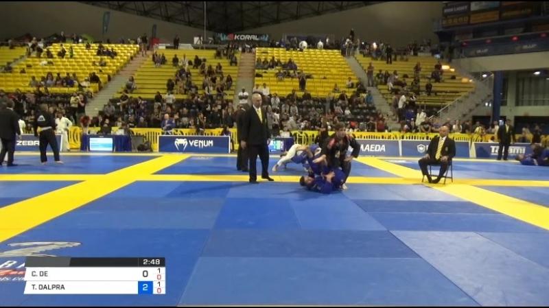 CAIO DE MELO vs TAINAN DALPRA 2018 World IBJJF Jiu Jitsu Championship