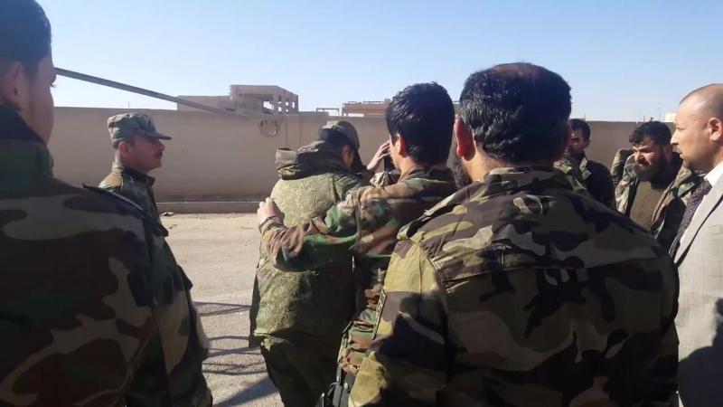 Сухейл аль Хасан прилетел с инспекцией в провинцию Идлиб