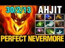 PERFECT NEVERMORE - AHJIT Plays Shadow Fiend - Dota 2