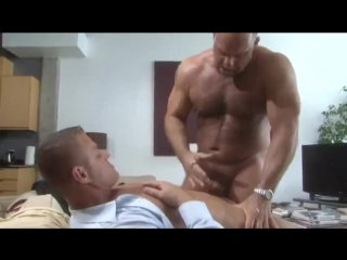 Real gay suit bear daddy hot video