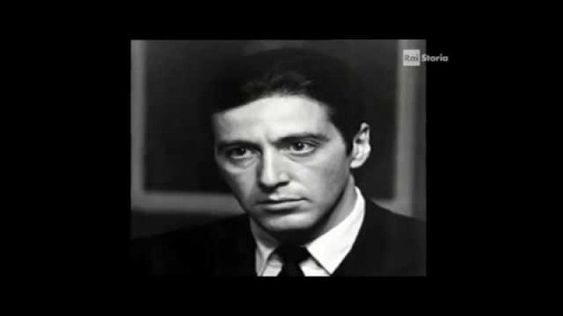 CORLEONE L' ATTORE AL PACINO FIGLIO DI EMIGRANTI CORLEONESI