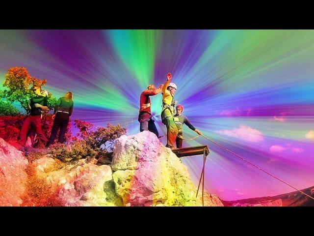 Прыжки с веревкой в Змеиной балке с командой SkyLine