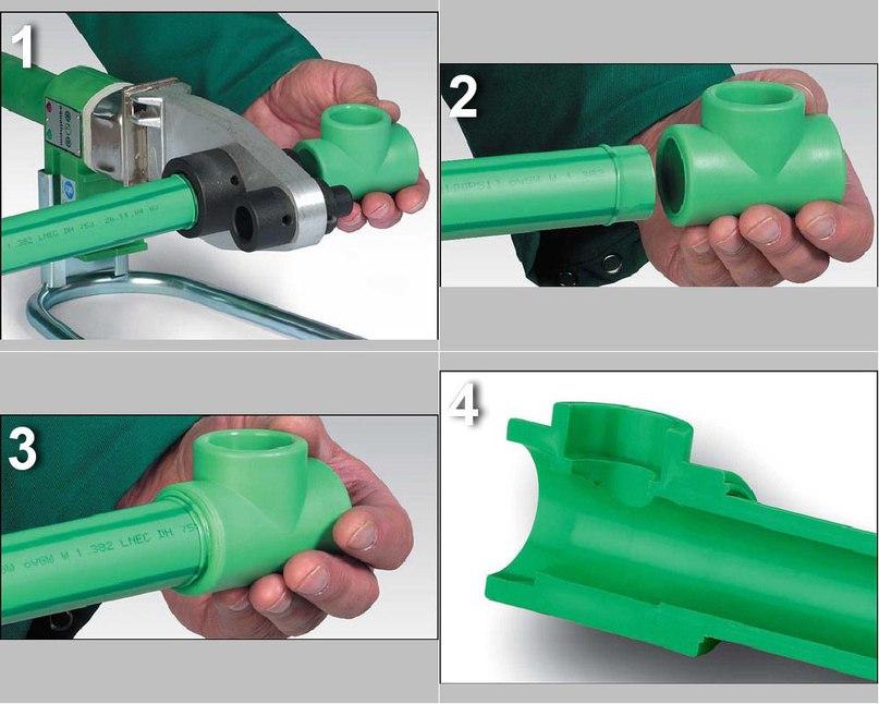 Сварка пластиковых труб своими руками, изображение №2