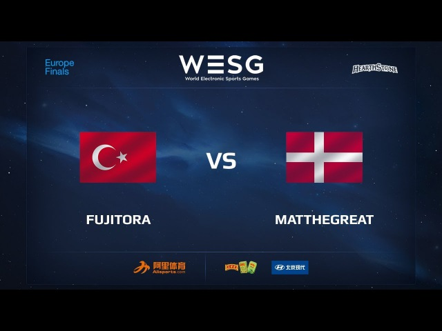 Fujitora vs MatTheGreat, Part 2, WESG 2017 Hearthstone European Qualifier Finals