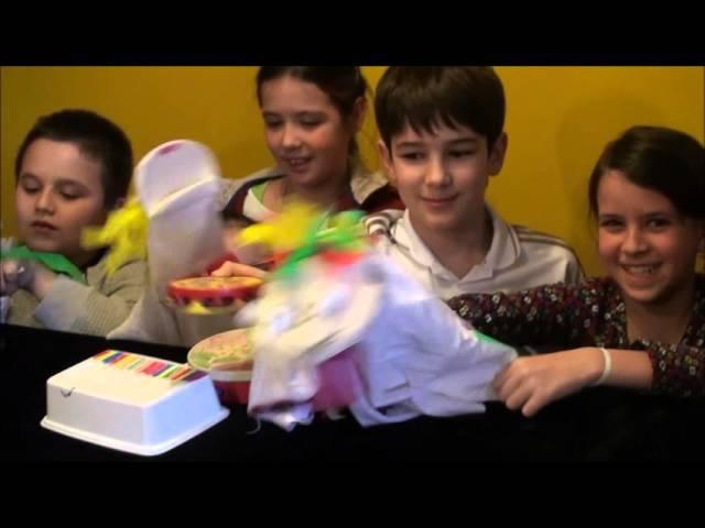 Кукольный театр с детьми Необыкновенный концерт и Маппет шоу за одно занятие