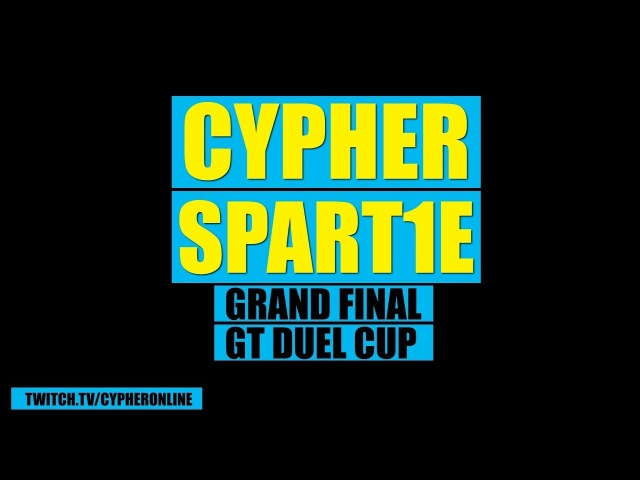 Cypher vs Spartie GT On line Duel Cup GRAND FINAL