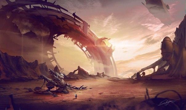 sci fi art - HD1600×947