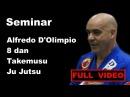 Seminar 25 Alfredo D'Olimpio 8 dan Takemusu Ju Jutsu