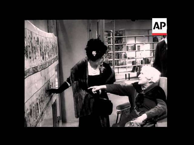 Queen Mother Sees the Works 1961