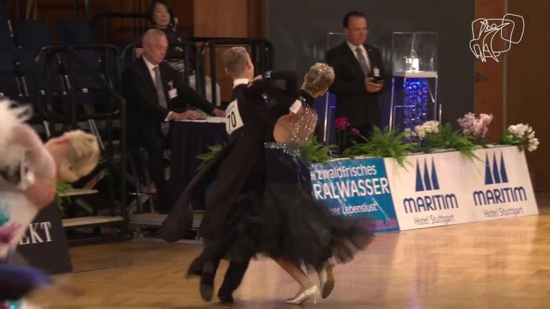 Patokin Promzeleva RUS 2017 GS STD Stuttgart R1 W DanceSport Total