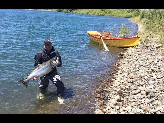 Pesca Chinook 12 Kg Río Toltén Chile