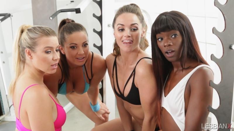 Anikka Albrite & Tori Black & Abigail Mac & Jenna Sativa & Ana Foxxx (Tori Black's Lesbian Gang Bang)[1080p]