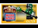 Видео обзор | Power Rangers Super Samurai | Могучие Рейнджеры Супер Самураи | MEGA BLOKS | 5743
