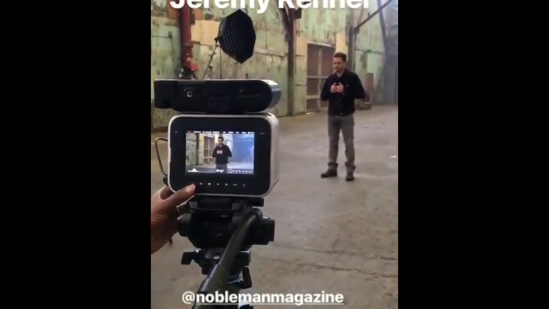 Jeremy Renner's Photoshoot for NobleMan Magazine