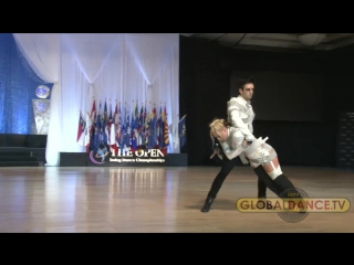 Jordan Frisbee & Tatiana Mollmann Showpiece  The Open 2017