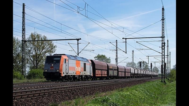 Güterverkehr zwischen Magdeburg und Helmstedt HVLE Militärzug CTL RBH 143er uvm