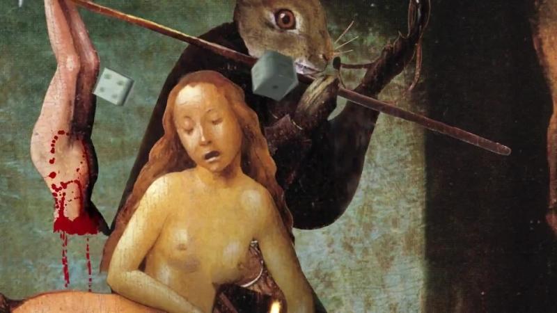 Анимированный ад Босха (Сад земных наслаждений) Колесо мучений - Buckethead (2004)