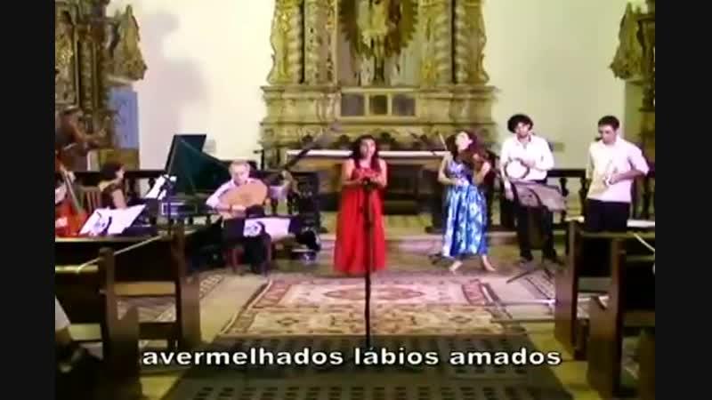 Клаудио Монтеверди Chiome d'oro в исполнении группы барочной музыки Camena Бразилия