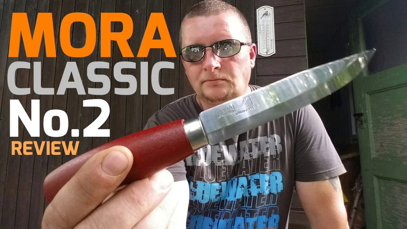 ✔MORA CLASSIC No 2 Review Test German Cody Lundin Survival Knife