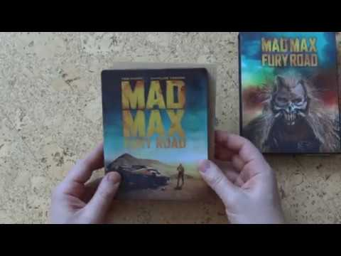 Mad Max: Fury Road - Black Chrome Edition [HDzeta Gold Label ] 4K UHD BD