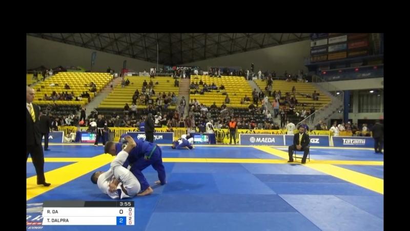 RAFAEL DA SILVA vs TAINAN DALPRA 2018 World IBJJF Jiu Jitsu Championship