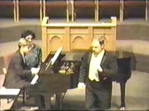 Joseph Shore Si Puo from 1991 concert