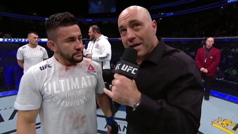 UFC 235 Педро Муньос Слова после боя