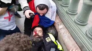 """Jérôme Rodriges, figure des """"gilets jaunes"""", grièvement blessé à l'oeil"""