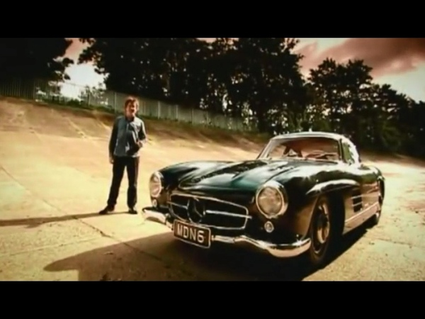 Top Gear на русском Mercedes-Benz 300SL Gullwing