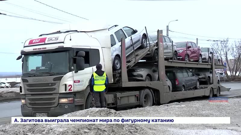В Чебоксарах начали действовать сезонные ограничения для большегрузов