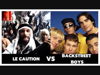 Backstreet boys ft. la caution batards de barbares (sheitan)