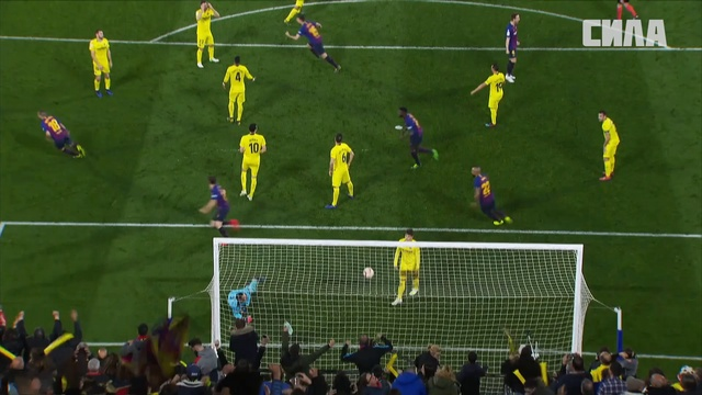 «Вильярреал» — «Барселона». Гол Луиса Суареса