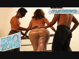 EROZONE - Angelica Ramirez Tight Sex Costume,Big Ass Silicon Big Boobs,Горячая Мамка с Большой Задницей,Жопастая Сука Потекла