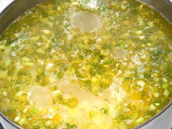 Куриный суп с пшеном, изображение №11