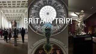 BRITAIN TRIP! - Нескучный обзор музеев ЛОНДОНА!