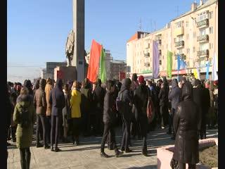 В Улан-Удэ зачитали послание комсомольцев 60-х нынешнему поколению