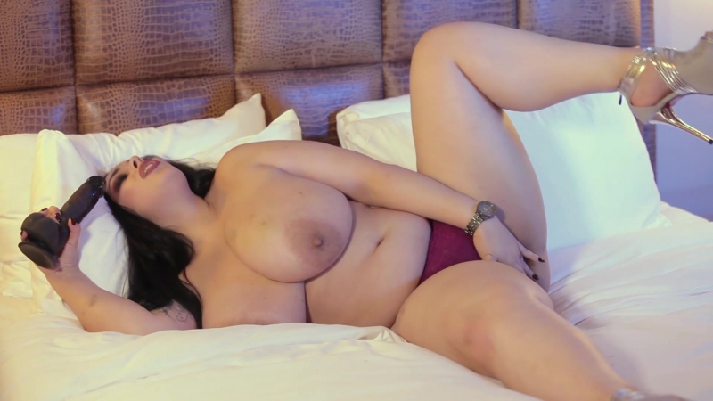 anastasia lux and black dildo solo big ass butts booty tits boobs bbw pawg curvy mature