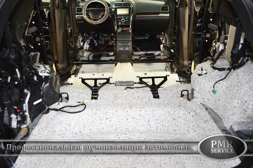Шумоизоляция Ford Explorer, изображение №9