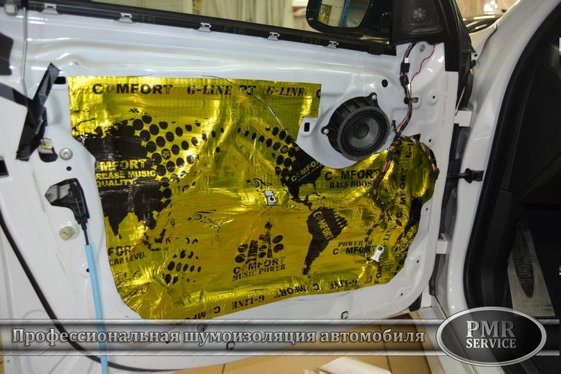Шумоизоляция BMW X6 M, изображение №17