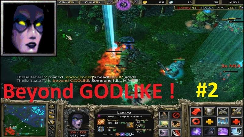 DotA 6.83d - Lanaya, Templar Assassin Beyond GODLIKE ! 2