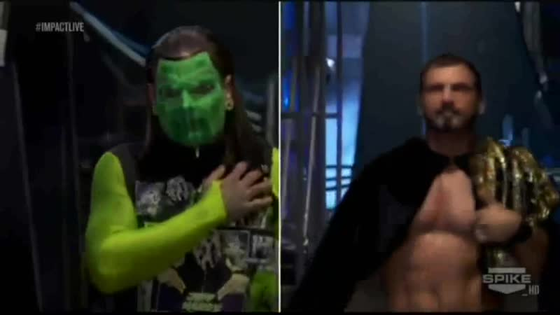 TNA Impact Wrestling 27 09 2012 Jeff Hardy Austin Aries vs Bully Ray Bobb