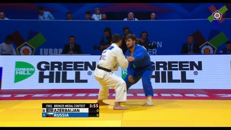 Team Championships 2018 Musa Mogushkov (RUS) - Valiyev T (AZE)