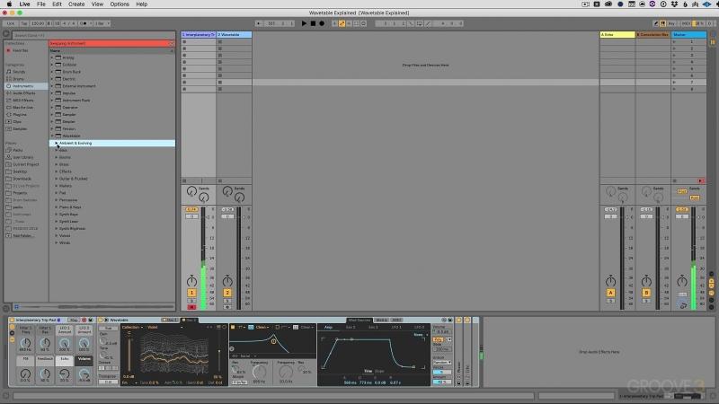 Groove3 Ableton Live Wavetable Explained