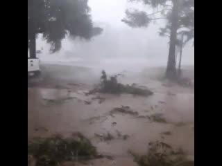 Грозы с сильным ветром в провинции Санта-Фе (Аргентина, 15 апреля 2019).
