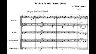 Camille Saint-Saëns - Piano Concerto No. 4, Op. 44 (1875) {Pascal Rogé}