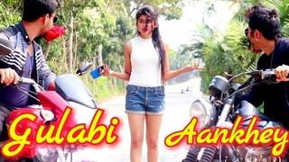 Gulabi Aankhen New Hot Version  Latest Love Scene full Video   Funny Love Story  Sv Music City 2019