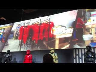 Exclusive video of jj talking about the sith troopers at the lucasfilm booth at sdcc!